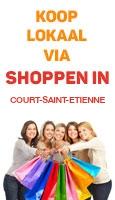 Shoppen in Court-Saint-Etienne