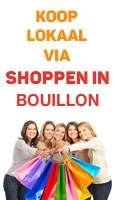 Shoppen in Bouillon