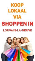 Shoppen in Louvain-la-Neuve