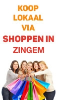 Shoppen in Zingem